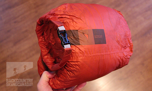 best service c31cd a0fa3 Review of the Exped Ultralite 500 Down Sleeping Bag | Wonow ...